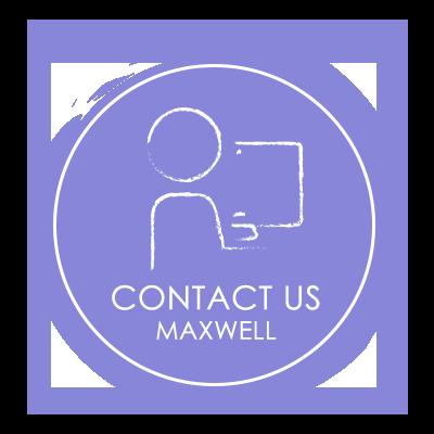 Watercolor CTA Circles Contact Us Maxwell