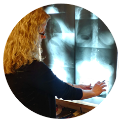 Chiropractor Ames IA Lisa Day GONSTEAD X Rays